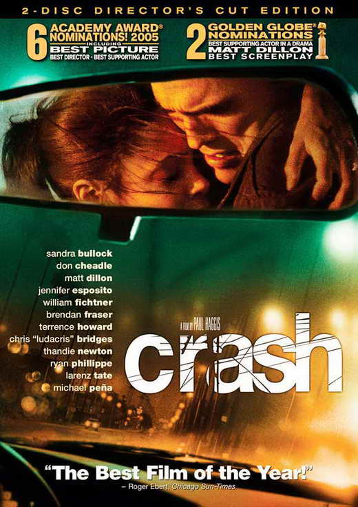 movie crash and sandra bullock Sandra bullock full list of movies and tv shows in theaters, in production and upcoming films  crash (movie) jean 2005  (movie) linda lue linden 1993 when the party's over .