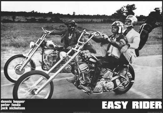 EASY RIDER Movie POSTER 11x17 C Peter Fonda Dennis Hopper Jack ... Easy Rider Movie Poster