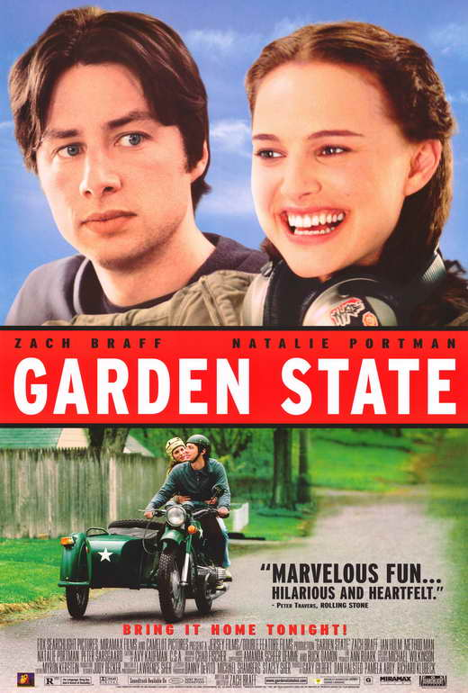 GARDEN STATE Movie POSTER PRINT 27x40 Zach Braff Kenneth ...