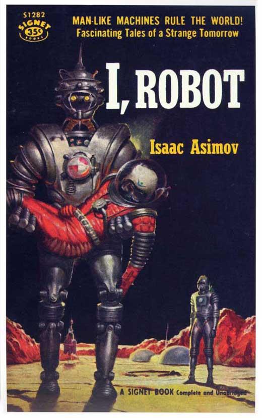 I, ROBOT Movie POSTER 11x17 Retro Book Cover   eBay I Robot Book Cover