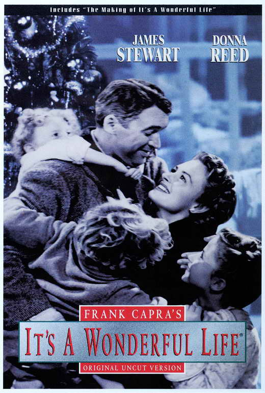 It 39 S A Wonderful Life Movie Poster C 27x40 James Stewart Donna Reed Ebay