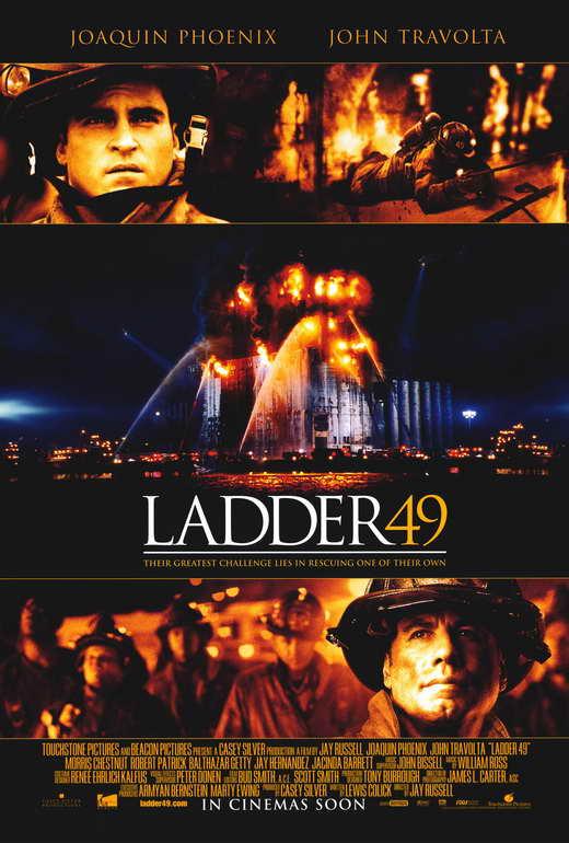 ladder 49 movie poster b 27x40 john travolta joaquin