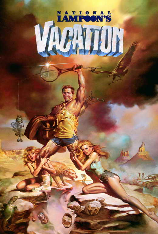 NATIONAL LAMPOON'S VACATION Movie POSTER 27x40 Chevy Chase