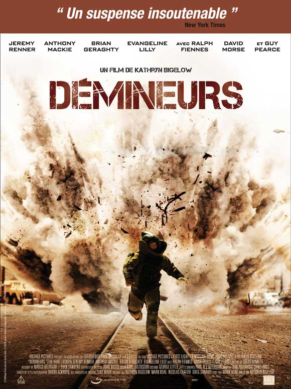 THE HURT LOCKER Movie POSTER 27x40 French Jeremy Renner ...