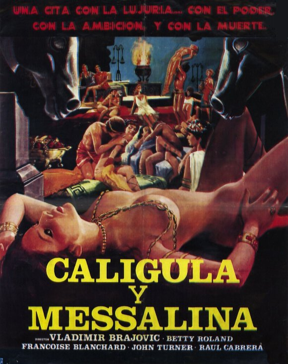 Poster Favorites CALIGULA & MESSALINA Poster Mini Promo Movie (11 ...