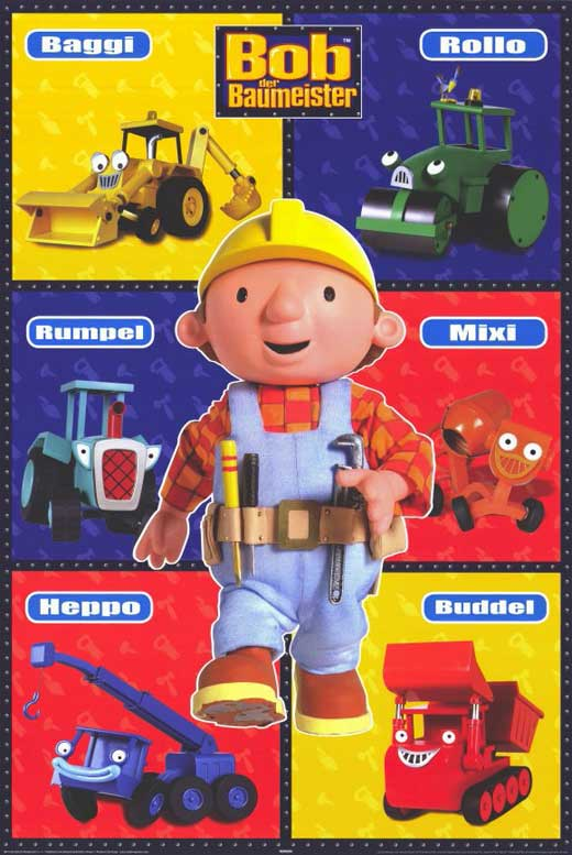 All Poster Shop BOB THE BUILDER Poster Mini Promo Movie (11 x 17 Inches - 28cm x 44cm) (German) Neil Morrissey Kate Harbour Rob Rackstraw at Sears.com