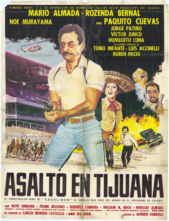 All Poster Shop ASALTO EN TIJUANA Poster Movie (27 x 40 Inches - 69cm x 102cm) (Spanish) Mario Almada Rosenda Bernal Paquito Cuevas No  Murayama at Sears.com