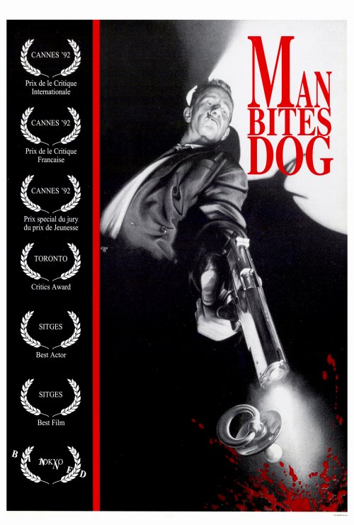 Poster Favorites MAN BITES DOG Poster Movie (27 x 40 Inches - 69cm x 102cm) Beno t Poelvoorde Nelly Pappaert Jenny Drye at Sears.com