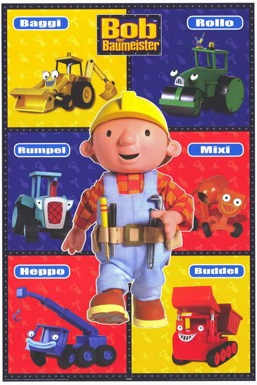 All Poster Shop BOB THE BUILDER Poster Movie (27 x 40 Inches - 69cm x 102cm) (German) Neil Morrissey Kate Harbour Rob Rackstraw at Sears.com