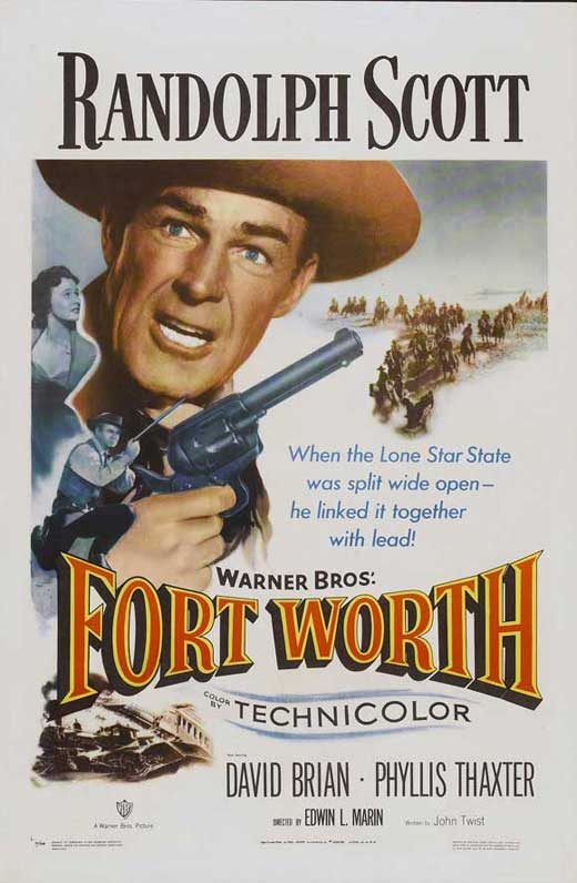 Poster Favorites FORT WORTH Poster Movie (27 x 40 Inches - 69cm x 102cm) Randolph Scott David Brian Phyllis Thaxter Helena Carter Dickie Jones at Sears.com
