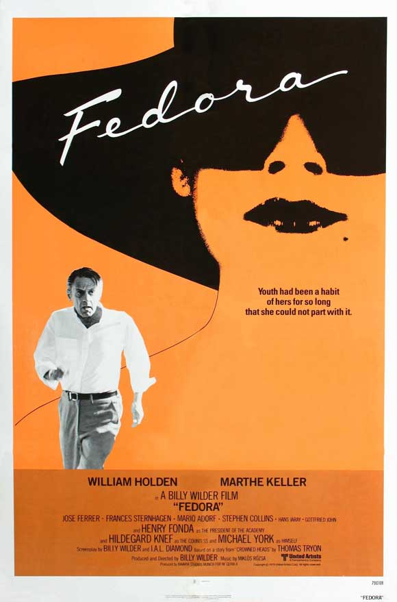 All Poster Shop FEDORA Poster Movie (27 x 40 Inches - 69cm x 102cm) William Holden Marthe Keller Hildegard Knef Jos  Ferrer at Sears.com