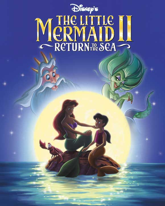 Poster Favorites THE LITTLE MERMAID II: RETURN TO THE SEA Poster Movie (27 x 40 Inches - 69cm x 102cm) (UK) Jodi Benson Samuel E. Wright Tara at Sears.com