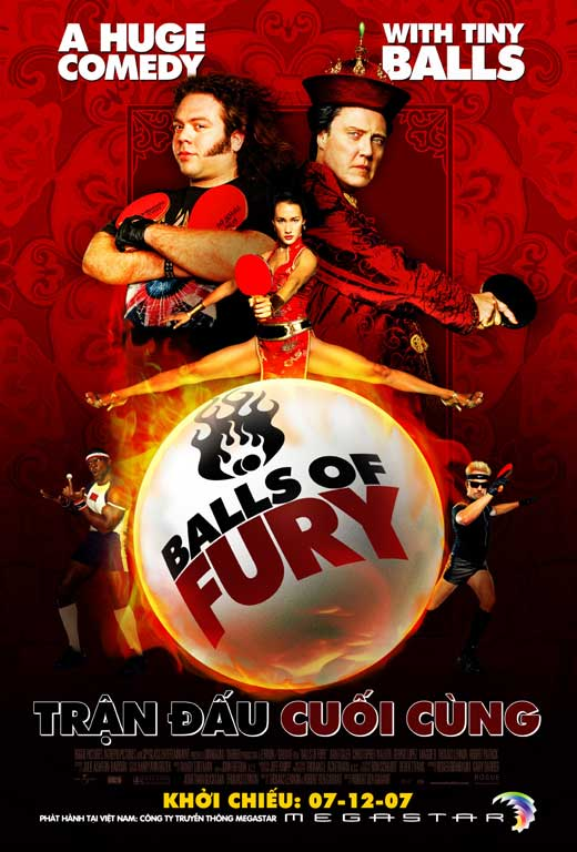 All Poster Shop BALLS OF FURY Poster Mini Promo Movie (11 x 17 Inches - 28cm x 44cm) (Vietnamese) Christopher Walken Maggie Q Masi Oka David at Sears.com