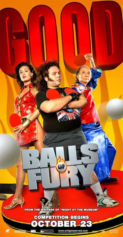 All Poster Shop BALLS OF FURY Poster Mini Promo Movie (11 x 17 Inches - 28cm x 44cm) (Thai Style B) Christopher Walken Maggie Q Masi Oka David at Sears.com
