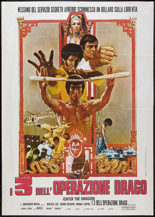 Poster Favorites ENTER THE DRAGON Poster Movie (27 x 40 Inches - 69cm x 102cm) (Italian) Bruce Lee John Saxon Jim Kelly Ahna Capri Shih Kien Bob at Sears.com